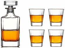 Bleifrei Kristall Transparente Dekanter Whisky