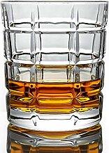 Bleifreie Kristallglas-Weingläser, kreative
