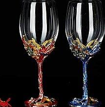 Bleifreie Kristallglas Weinglas Festliche Partei