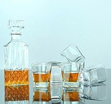 Bleifreies Glas Diamond Crystal Weinglas Becherset