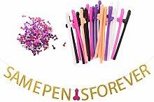 Blesiya Henne Bachelorette Party Dekoration Kits
