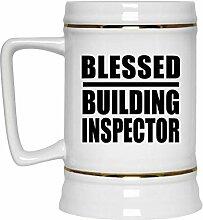 Blessed Building Inspector - Beer Stein Bierkrug