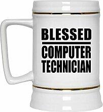 Blessed Computer Technician - Beer Stein Bierkrug