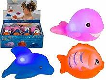 Blinkende Badewannentierchen, Badespielzeug, Badetiere, Wasserspielzeug
