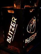 Blitzer Design Feuerkorb Feuerschale Feuertonne 2
