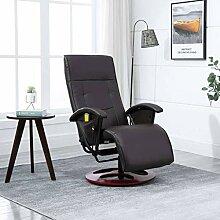 (Blitzlieferung) Massagesessel 360°drehbarer