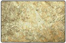 Blived Badematte Teppich,Stein Textur Bad Teppich