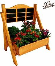 BLIŹNIAKI Dekoratives Blumenregal aus Holz