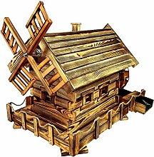 BLIZNIAKI Wunderschön Wassermühle aus Holz
