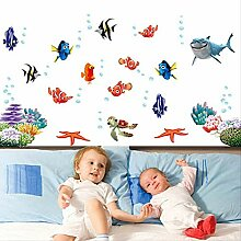 BLLXMX Findet Nemo Unter Sea Shark Fish 3D Cartoon