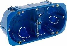 BLM 120283 Räucherbox, blau