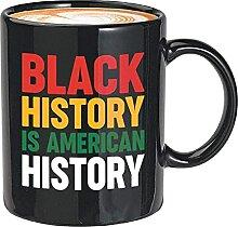 BLM Kaffeebecher - Schwarze Geschichte ist