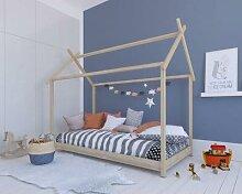 BLN Kids Bivouac Kinderbett / 90x200 cm / natur