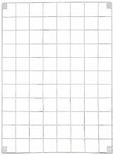 Block-Drahtgitter-Memoboard, weiß