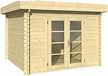 Blockhaus DORTMUND 319 x 319cm Gartenhaus 45mm