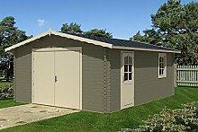 Blockhaus Garage B 40 Gartenhaus 470 x 570 cm - 40