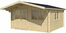 Blockhaus VENLO 420 x 420cm Gartenhaus 45mm