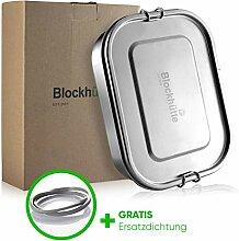 Blockhütte® Premium Edelstahl Brotdose [1400ml]