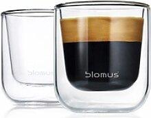 BLOMUS Espressoglas NERO, Glas, Doppelwandig,