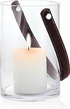 blomus Windlicht Ohne Kerze, M, Glas, Transparent, 12 x 12 x 18 cm