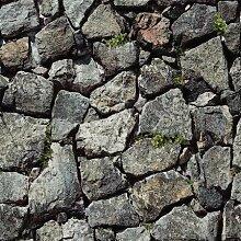 Blooming Mauer Stein Steine Tapete Natur für