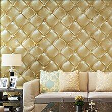 Blooming Wall 3D-Kunstleder-Tapete, strukturierte