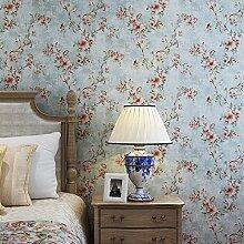 Blooming Wall Fototapete Vintage Floral Peony für