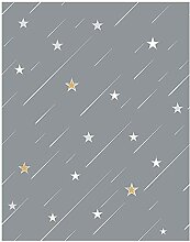 Blooming Wall Peel and Stick Falling Stars Tapete,