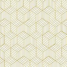 Blooming Wall Peel and Stick Geometrie gestreift