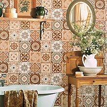 Blooming Wand 63111–Vintage Mosaik Fliesen