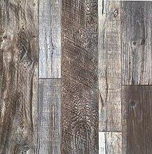 Blooming Wand-Barnwood Holz-Holz Plank Tapete Wand