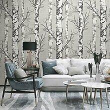 Blooming Wand modern Birke Baum Wand Wandbild