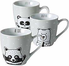 Bloominghome Jumbotasse Panda Bär Waschbär