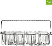 Bloomingville - 5tlg. Vorratsglas-Set