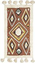Bloomingville AH0637 Teppich, Mehrfarbig