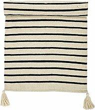 Bloomingville Baumwolle Teppich mit Streifen
