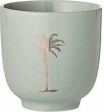 Bloomingville Becher Palm, grün