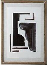 Bloomingville - Bilderrahmen mit Print, abstrakt