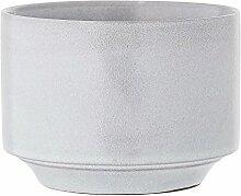 Bloomingville - Blumentopf - grau - Keramik -