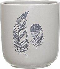 Bloomingville - Blumentopf - grau - Keramik Ø 10