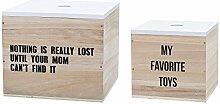 Bloomingville Boxen-Set, weiß