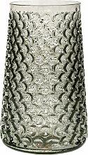 Bloomingville - Glas-Vase, smokey grey, 30 cm