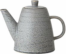 Bloomingville Glazed Grey Stoneware Teapot