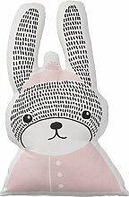 Bloomingville Kissen Rabbit, Hase