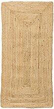 Bloomingville Kleiner natürlicher Seegras-Teppich