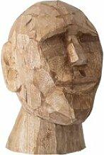 Bloomingville - Kopf Skulptur abstrakt H 24 cm,
