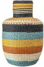 Bloomingville - Multicolour Seegras-Korb, Ø 35 x