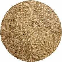 Bloomingville - Naturfaser Teppich Ø 120 cm,