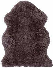 Bloomingville Neuseeland Lammfell-Teppich Heather