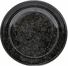 Bloomingville Noir Porzellan Schale schwarz/grau